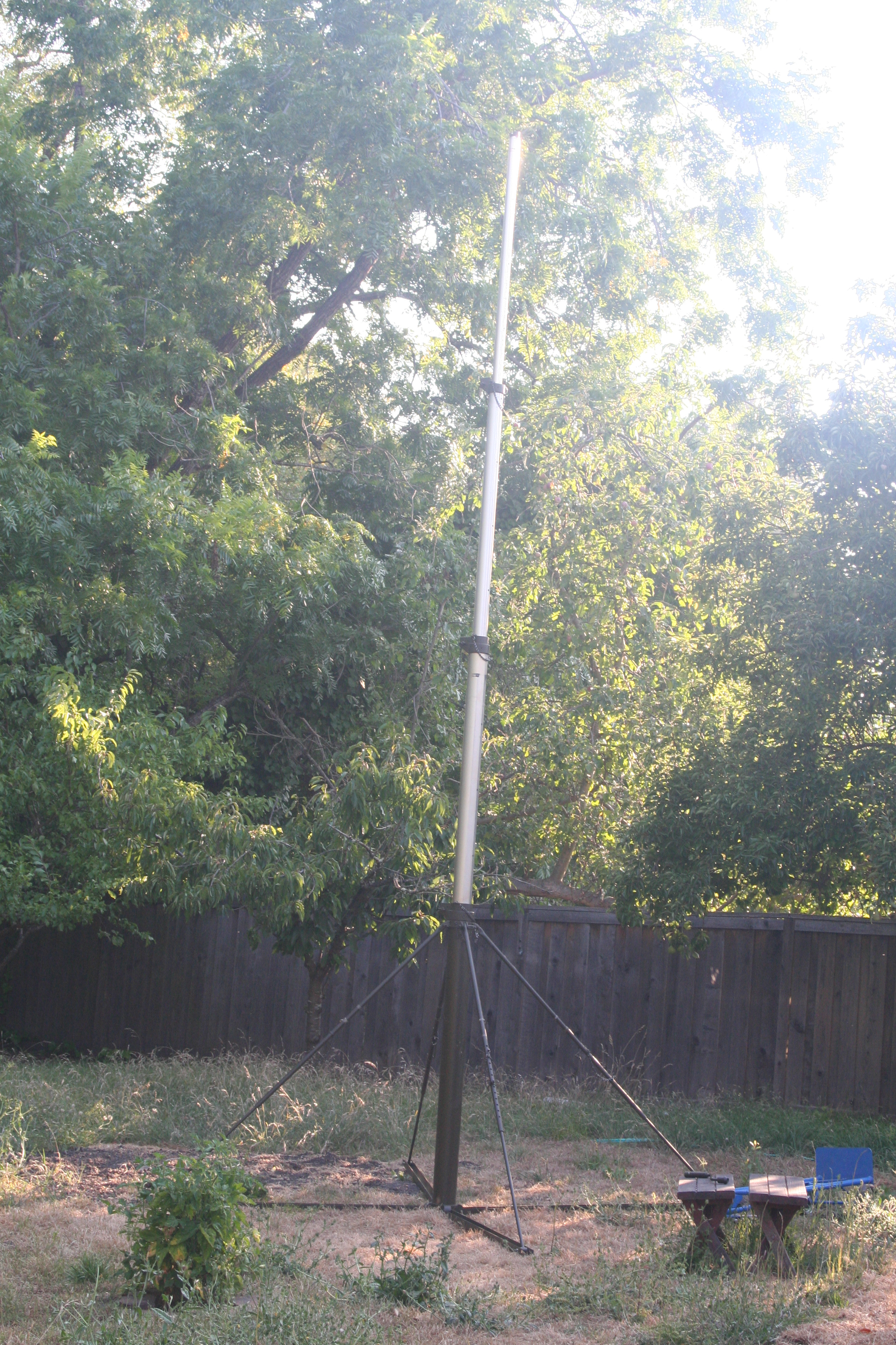 portable ham radio antenne mast