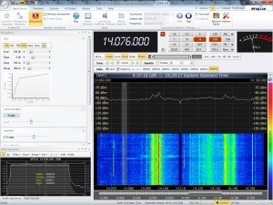 SDR-radio screenshot